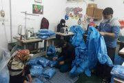 روزانه ۱۰۰ نیروی بسیجی شهرهای استان سمنان را ضدعفونی میکنند