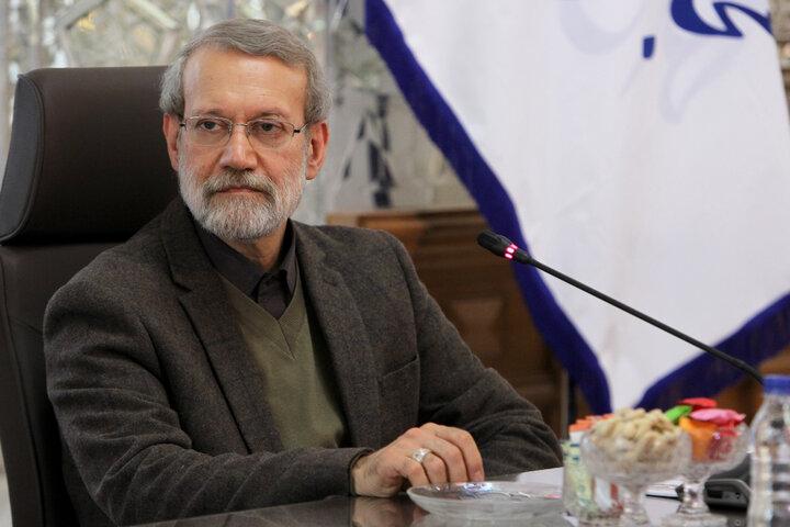 لاریجانی:  تجار ایرانی مایل به همکاری در بازسازی سوریه هستند