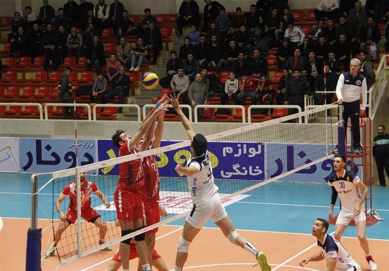 لیگ برتر والیبال| پیروزی پیکان در تهران