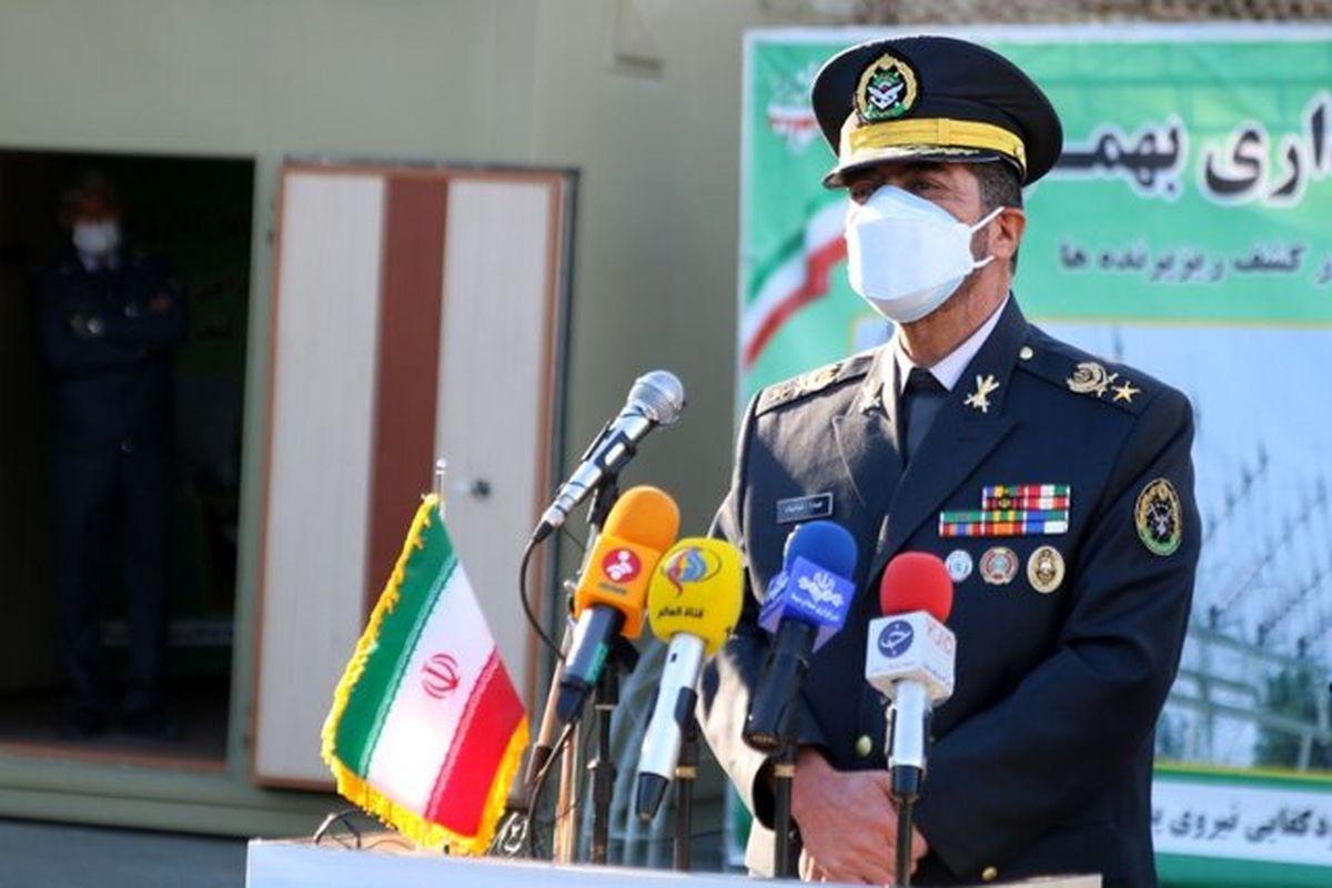امیر سرتیپ صباحی فرد:قرارگاه پدافند هوایی خاتم الانبیاء(ص) متولی امنیت فضای کشور است