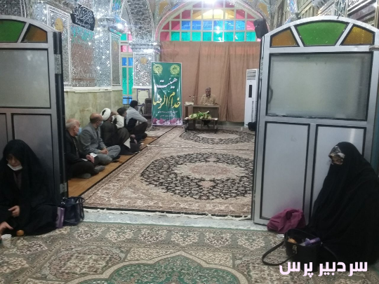 برگزاری جشن در حرم امامزاده احمد ابن محمد باقر(ع) شهرستان سنقر وکلیایی