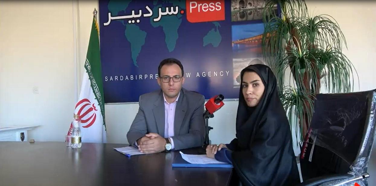 مصاحبه خبرنگار رسانه سردبیر با احسان امیرخانی کاندید ششمین دوره شورای اسلامی شهر سنقر