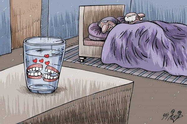 اثر کارتونیست کرمانشاهی برگزیده مسابقه بینالمللی کارتون سوریه شد