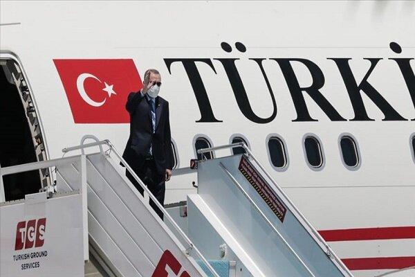 اردوغان راهی مقر ناتو در بروکسل شد