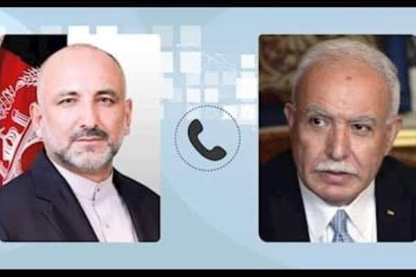 افغانستان با مردم مظلوم فلسطین اعلام همبستگی کرد