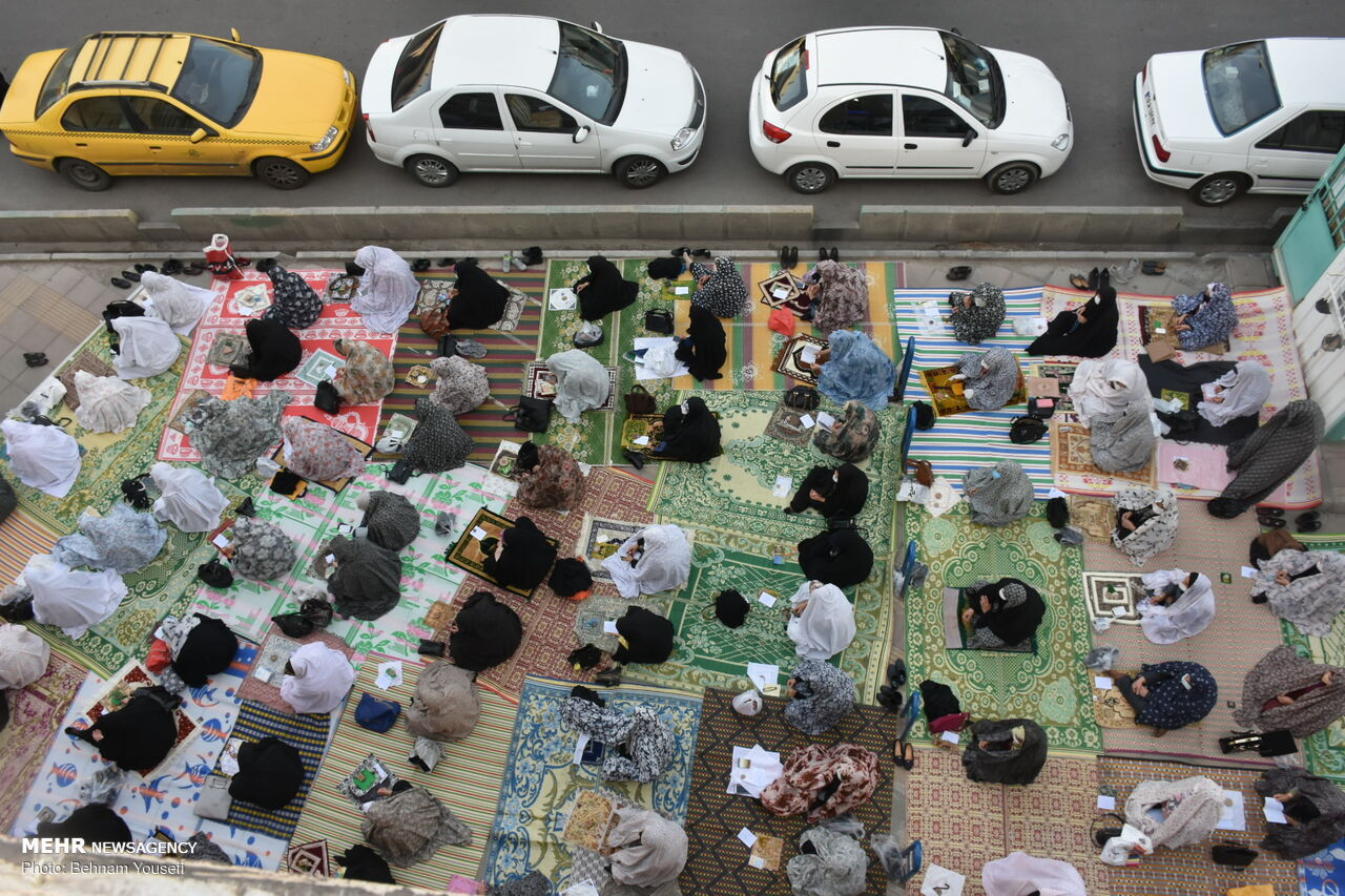 اقامه نماز عید سعید فطر در اراک