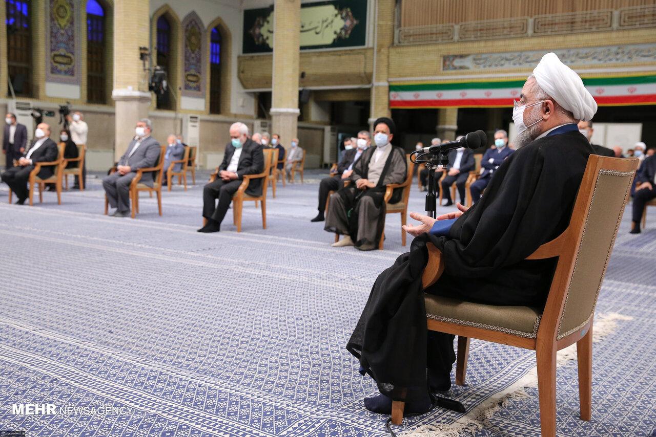 تاخیر عامدانه رئیسجمهور در جلسه با رهبر انقلاب صحت ندارد