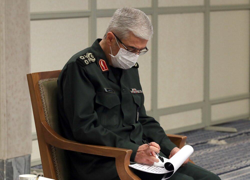 تسلیت سرلشکر باقری بهمناسبت درگذشت پدر معاون ستادکل نیروهای مسلح