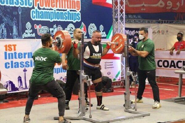 تیم ملی حفاری ایران قهرمان پاورلیفتینگ باشگاه های جهان شد