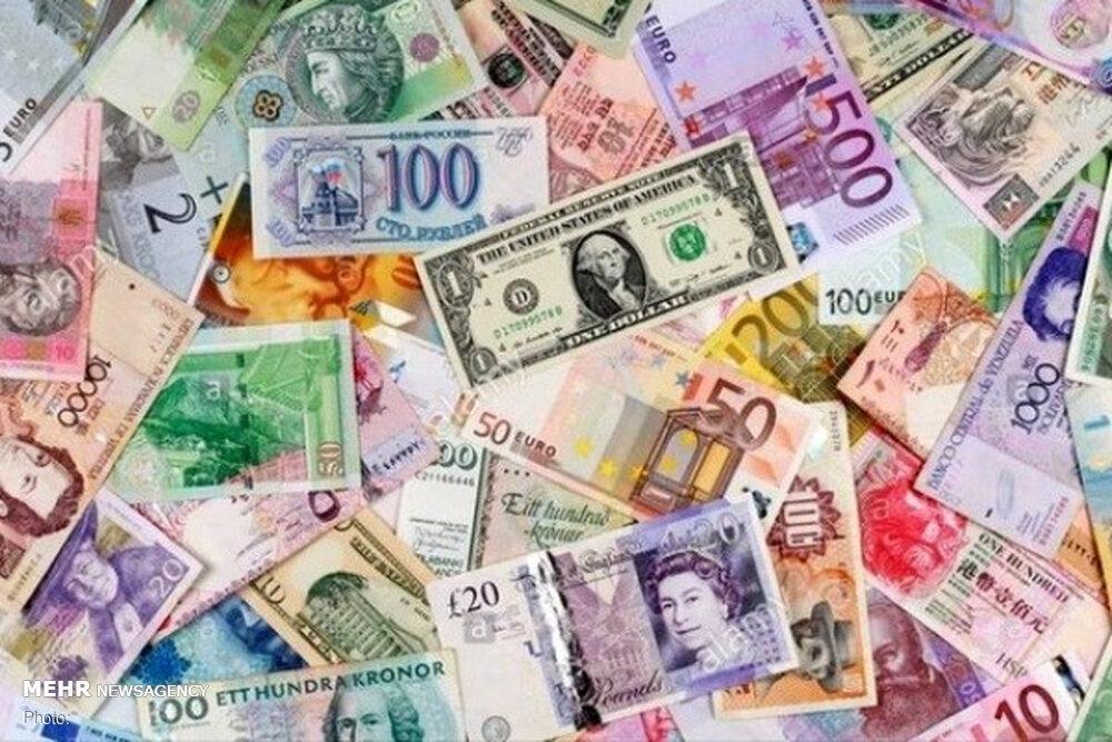 جزییات قیمت رسمی انواع ارز/ کاهش نرخ یورو