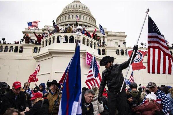 حادثه یورش به کنگره آمریکا، هجومی تروریستی بوده است
