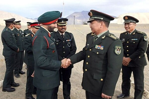 خط تماس فوری نظامی میان چین و هند برقرار شد
