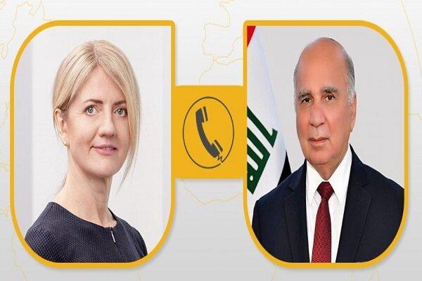 رایزنی وزیر خارجه عراق با همتای استونی