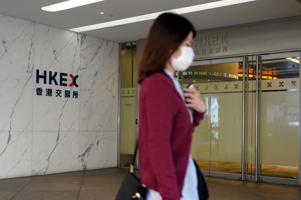 سقوط سنگین ۴ درصدی شاخص سهام هنگکنگ
