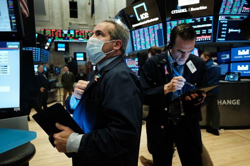 سهام تکنولوژی از سقوط بازگشت