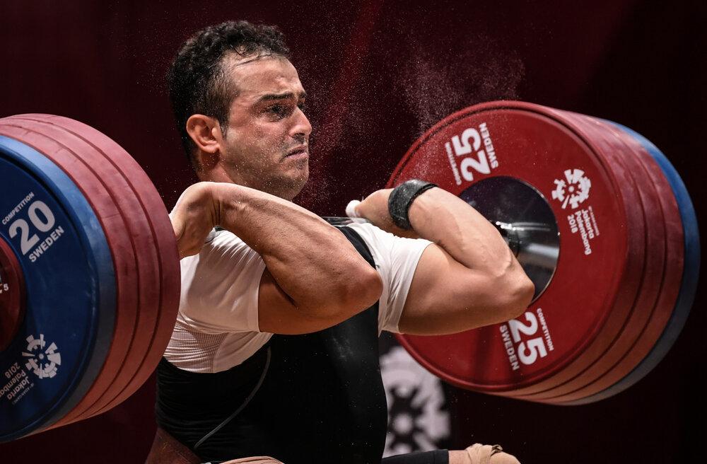 سهراب مرادی المپیک توکیو را از دست داد/ مصدومیت بدموقع زیر وزنه ۱۷۰ کیلوگرم