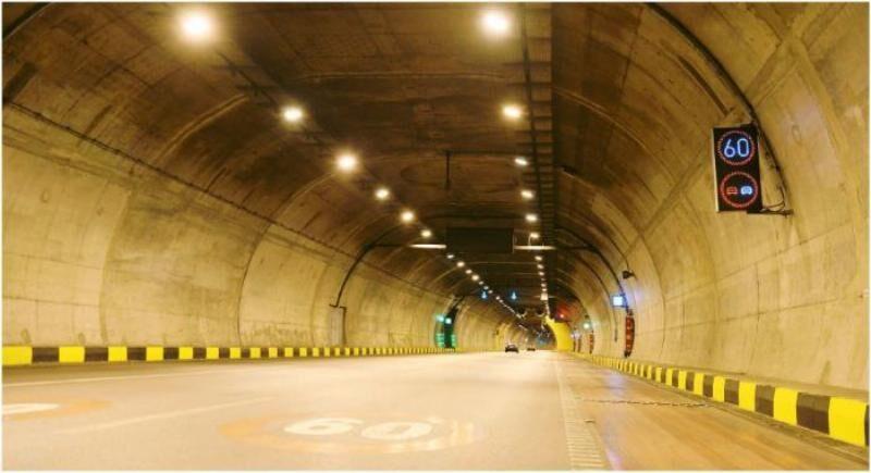 طولانی ترین تونل خاورمیانه در آزاد راه تهران – شمال گشایش یافت