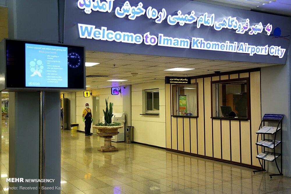 مسافران فاقد بلیت و روادید، عامل شلوغی فرودگاه امام بودند