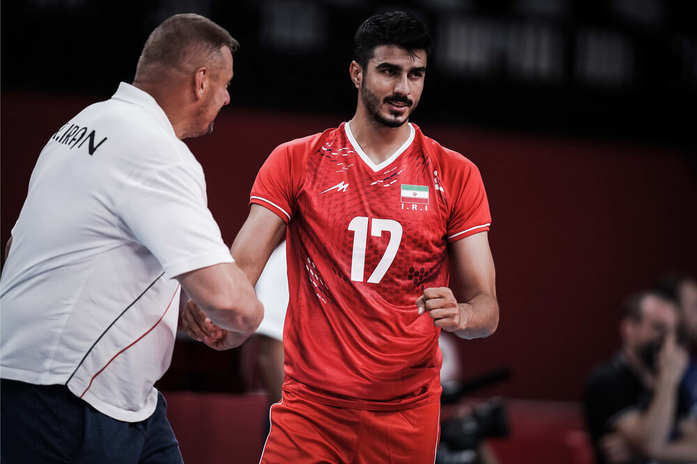 میثم صالحی امتیاز آورترین بازیکن ایران مقابل ایتالیا