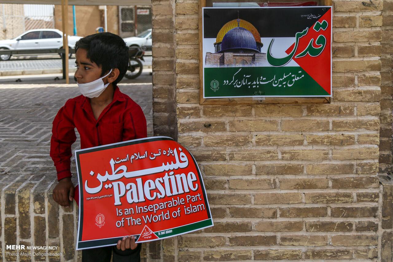نابودی رژیم اسرائیل زمینه استقرار حکومت جهانی را فراهم میکند