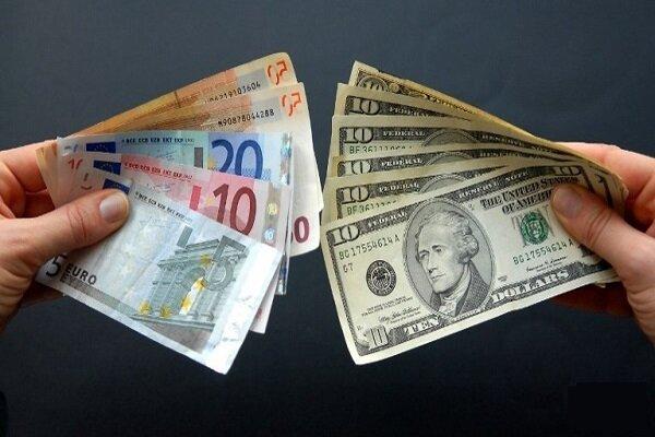 نرخ برابری دلار به پایینترین سطح ۱۰ هفتهای رسید