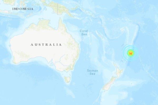هشدار وقوع سونامی در پی زمین لرزه قدرتمند در جزایر نیوزلند