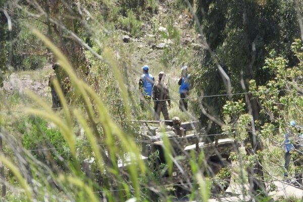 واژگونی کامیون حمل تانک متعلق به رژیم صهیونیستی در مرزهای لبنان