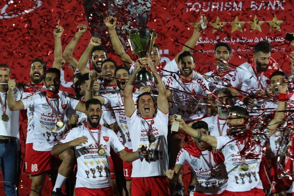 پرسپولیس قهرمان لیگ بیستم شد/ جام پنجم روی دستان کاپیتان سیدجلال