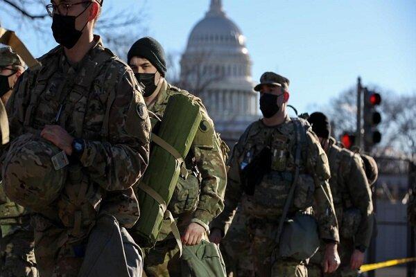 پلیس کنگره آمریکا ادامه حضور گارد ملی در پایتخت را درخواست کرد