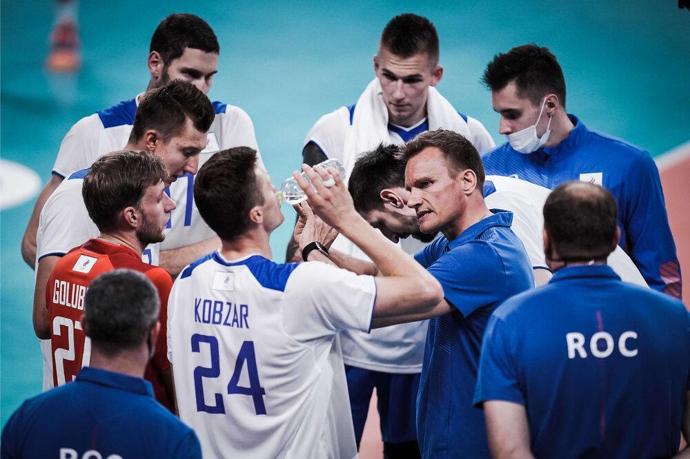 پیروزی حیاتی والیبال فرانسه مقابل روسیه مدعی