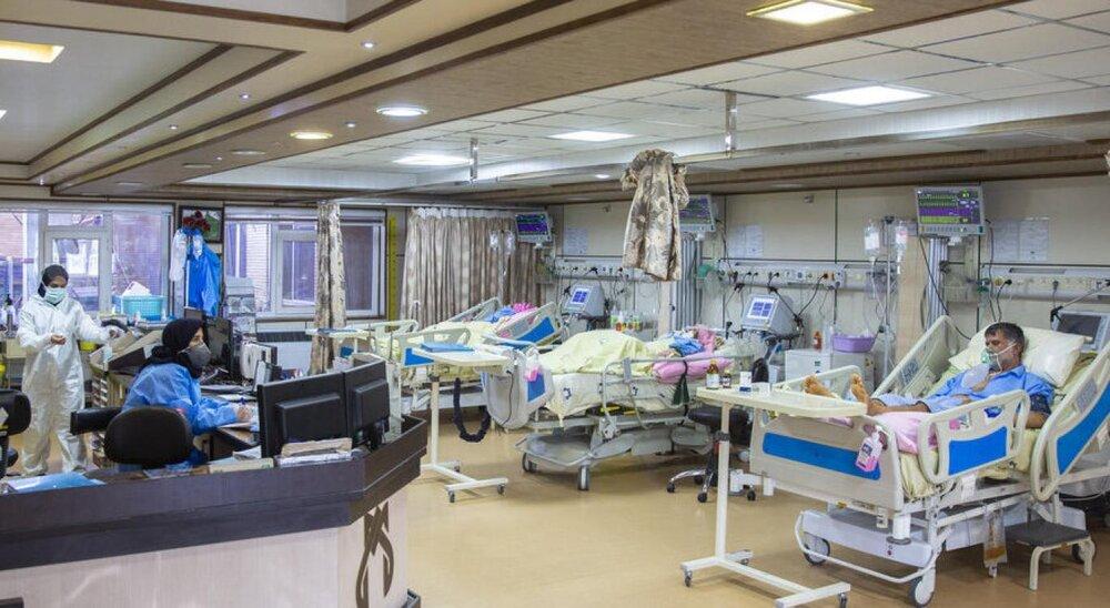 ۲۴۴ بیمار در بخش های کرونایی استان کرمان بستری شدند