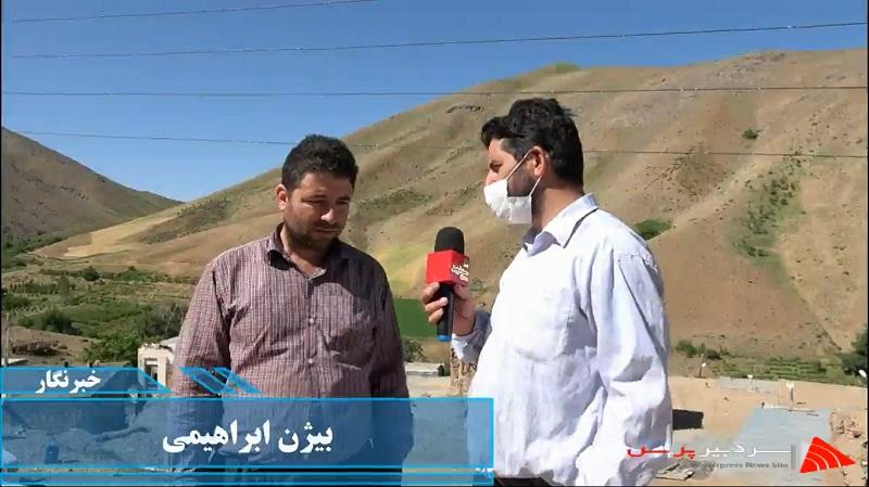 گزارش خبرنگار رسانه سردبیر پرس ازروستای خانقاه علیا